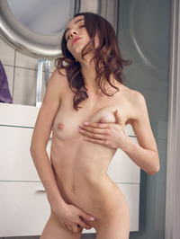 Brunette Beauty Adel Morel Plays With Herself