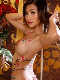 Erena Pine tight body